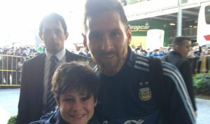 Lionel Messi - with Bodyguard